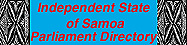 Independent State of Samoa Parliament