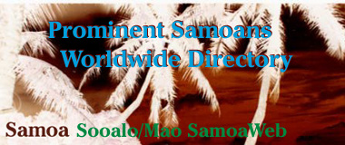 Prominent Samoans Worldwide Directory